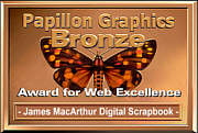 Papillon Graphics Bronze Award