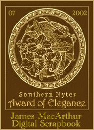 image of southern nytes award